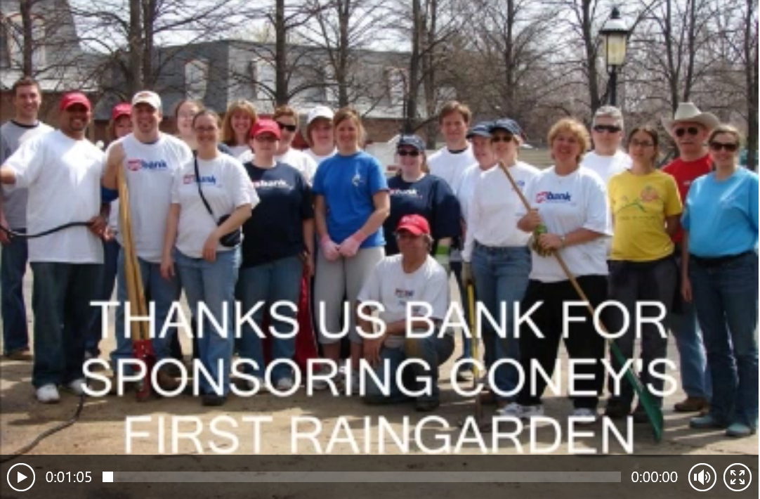 US Bank Raingarden